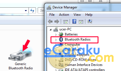 Cara Pasang Bluetooth USB Adapter di Laptop atau PC